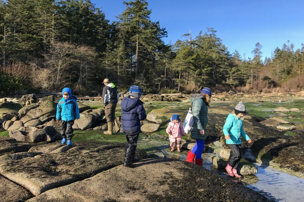 Exploring Tide Pools at Big Trib aka Tribune Bay